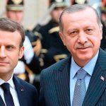 Эрдоган в телефонной беседе объяснил Макрону о целях военной операции в Сирии