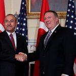 Помпео и Чавушоглу обсудили создание механизма контроля прекращения огня в Ливии