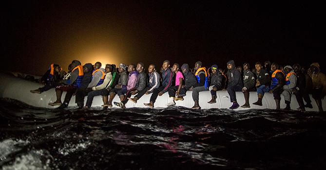 ООН призвала ЕС к новой миссии по спасению беженцев на море