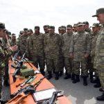 В связи с погодными условиями в азербайджанской армии введен особый режим