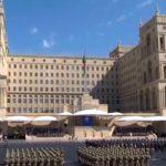 На главной площади столицы Азербайджана проводится военный парад