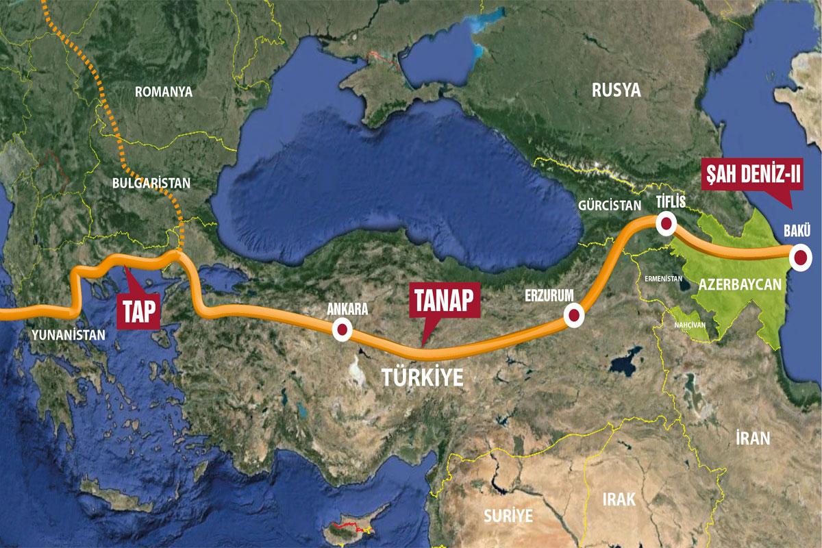 Азербайджан усиливает газовое присутствие в Турции