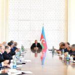 Под председательством Президента Ильхама Алиева состоялось заседание Кабмина, посвященное итогам развития в I половине 2018 года и предстоящим задачам