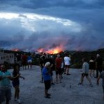 Из-за лесных пожаров в Греции погибли более 20 человек