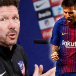 Диего Симеоне: В окружении сильных Месси является лучшим футболистом в мире