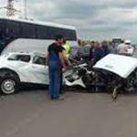 Страшное ДТП в Грузии: трое азербайджанцев погибли, двое ранены