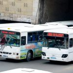 Общественный транспорт приостановил работу на два дня