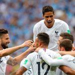 Франция обыграла Уругвай и вышла в полуфинал ЧМ