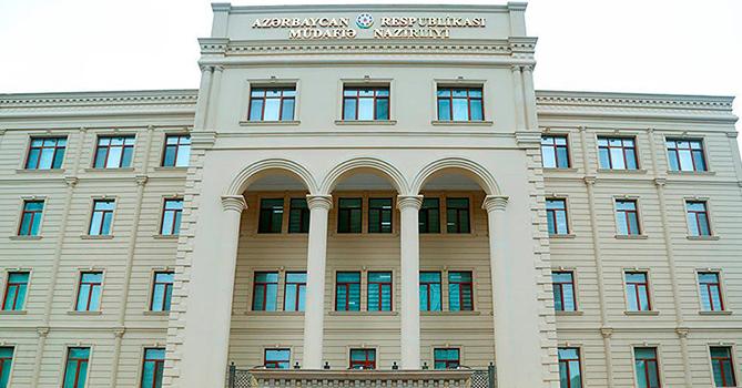 Минобороны: Боевые операции на Товузском направлении продолжаются, один военнослужащий погиб