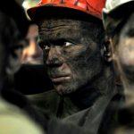 В грузинском городе  Ткибули шахтеры проводят акцию протеста