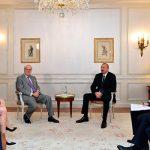 В Париже состоялась встреча Президента Ильхама Алиева с вице-президентом компании Rothschild and Co