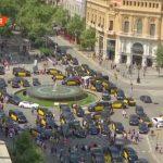 В Испании продолжается забастовка таксистов против Uber и Cabify