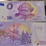 На родине Маркса продано 100 тысяч банкнот с номиналом ноль евро