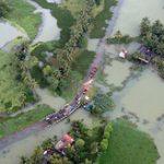 Жертвами наводнений в индийском штате Керала стали 445 человек