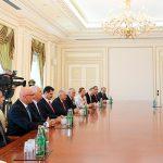 Ильхам Алиев принял Бинали Йылдырыма