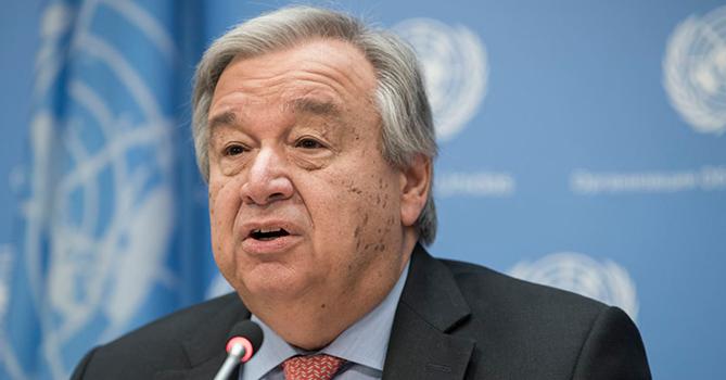 Генсек ООН заявил о «глобальной вспышке насилия в семье»на фоне пандемии