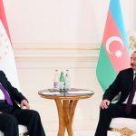 Состоялась встреча президентов Азербайджана и Таджикистана