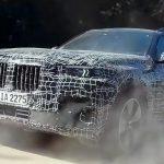 BMW показала новый кроссовер X7 на видео