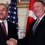 Помпео и Чавушоглу обсудили по телефону Сирию