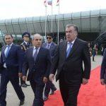 Завершился официальный визит в Азербайджан президента Таджикистана