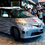 На улицах Токио испытывают беспилотное такси с пассажирами