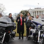 Трамп поддержал бойкот Harley Davidson