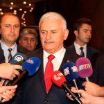 Бинали Йылдырым прибыл в Азербайджан с официальным визитом