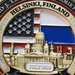 Памятную монету в честь встречи Путина и Трампа выпустили в Белом доме
