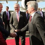Начался официальный визит Эрдогана в Германию