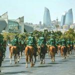 В Баку начался военный парад (обновлено)