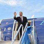 Завершился визит Ильхама Алиева в Россию