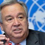 Генсек ООН призвал прекратить боевые действия на азербайджано-армянской границе