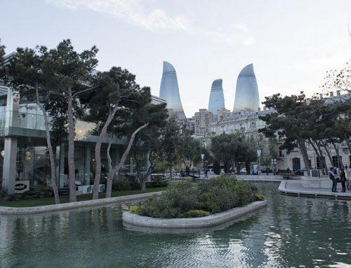Закрыт вход на бакинский бульвар