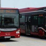 В Баку 15 сентября будут изменены схемы движения автобусов