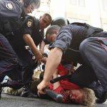 Участник митинга против пенсионной реформы в Москве стал фигурантом уголовного дела