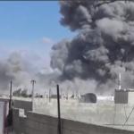 В Сирии боевики обстреляли Алеппо и Латакию