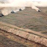 Начались широкомасштабные оперативно-тактические учения Азербайджанской Армии