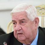 США пора осознать свой провал на политической арене, заявил глава МИД Сирии