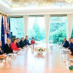 Состоялась встреча президентов Азербайджана и Хорватии