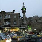 В Дамаске из-за ливня отключились светофоры и телевещание