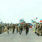 В азербайджанской армии проводятся соревнования по марш-броску