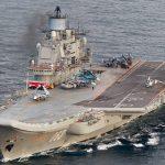 Во время ремонта «Адмирала Кузнецова» затонул плавучий док