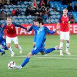 Азербайджан сыграл вничью с Норвегией в последнем матче отбора на ЕВРО