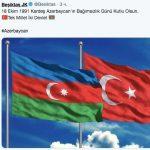 Турецкие клубы поздравляют Азербайджан