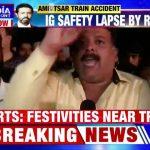 В результате столкновения поезда с толпой в Индии погибли 50 человек