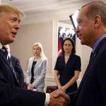 """Трамп рассказал об """"очень хорошим телефонном разговоре"""" с Эрдоганом"""