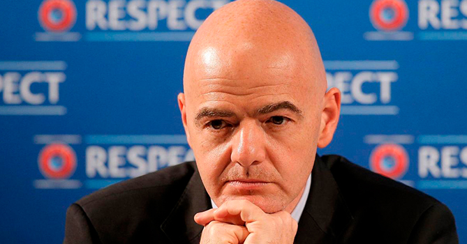 Глава ФИФА Инфантино не будет отстранен на время расследования