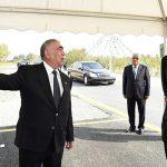 В Губе состоялось открытие новой автомобильной дороги