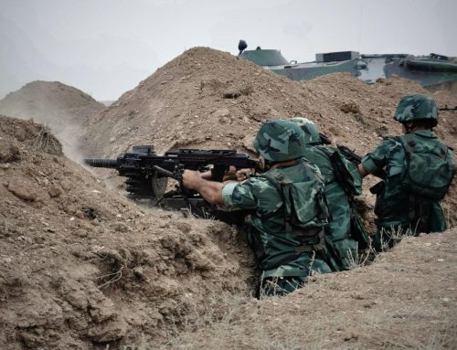 ВС Армении нарушили режим прекращения огня 22 раза