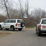 ОБСЕ провел мониторинг на линии соприкосновения войск